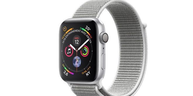 apple watch series 4 changement d'heure