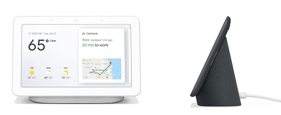google home hub meteo