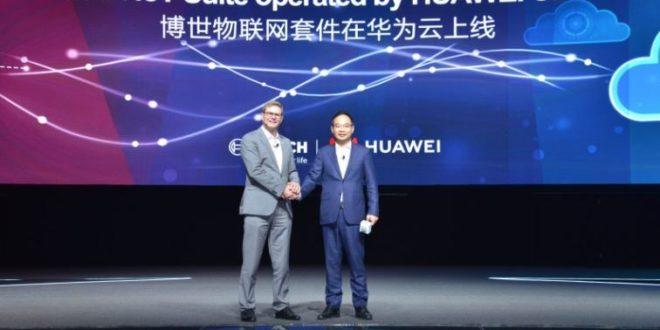 IoT : Bosch et Huawei Cloud annoncent un partenariat en Chine
