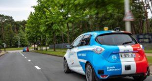 renault zoe voitures autonomes