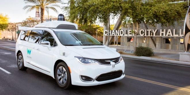 robots taxis waymo
