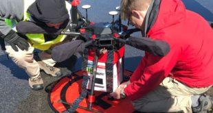 drone livraison organe