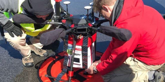 Des chercheurs tentent l'une des premières livraisons d'organes par drone