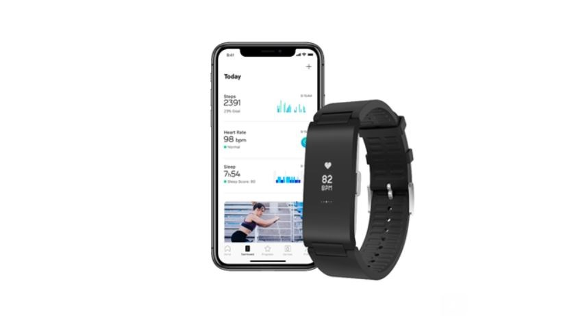 withings pulse hr appli