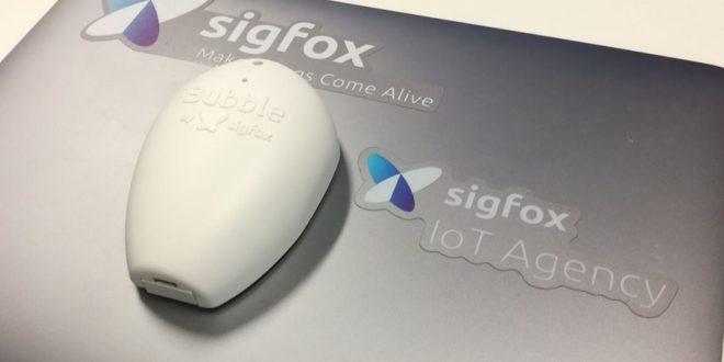 sigfox bubble iot agency