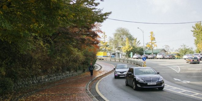 5g seoul voiture autonome lg