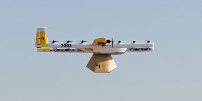 Les drones de livraison de Googleautorisés à voler aux États-Unis