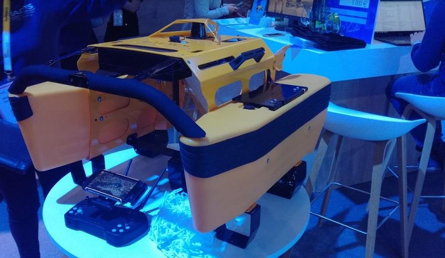vivatech 2019 drone sous marin