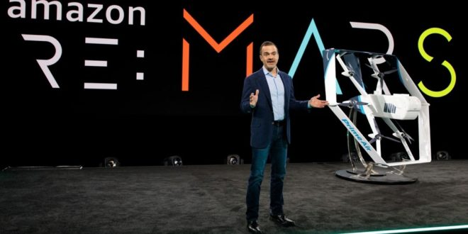 drone autonome amazon prime air