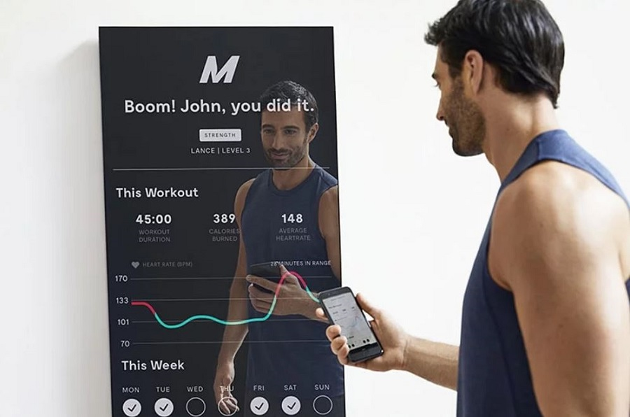 mirror sport connecte