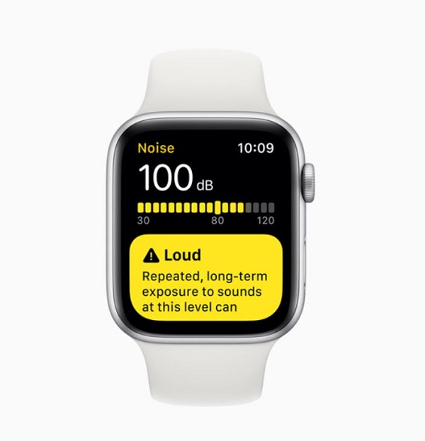 watchos 6 noise