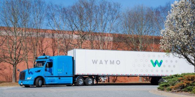 waymo camion autonome