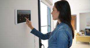thermostat connecté femme