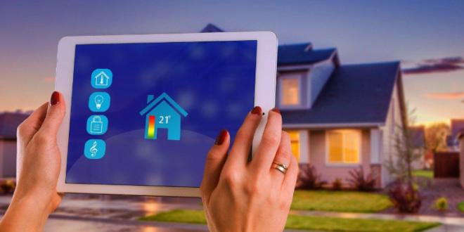 Tablette munie d'un VPN pour protéger les objets connectés d'une maison