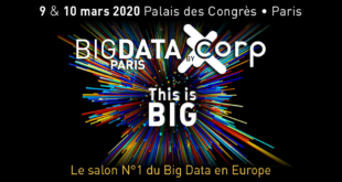 big data paris 2020 une