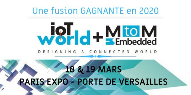 salon IoT World + MtoM une