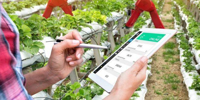 tablette ferme intelligente