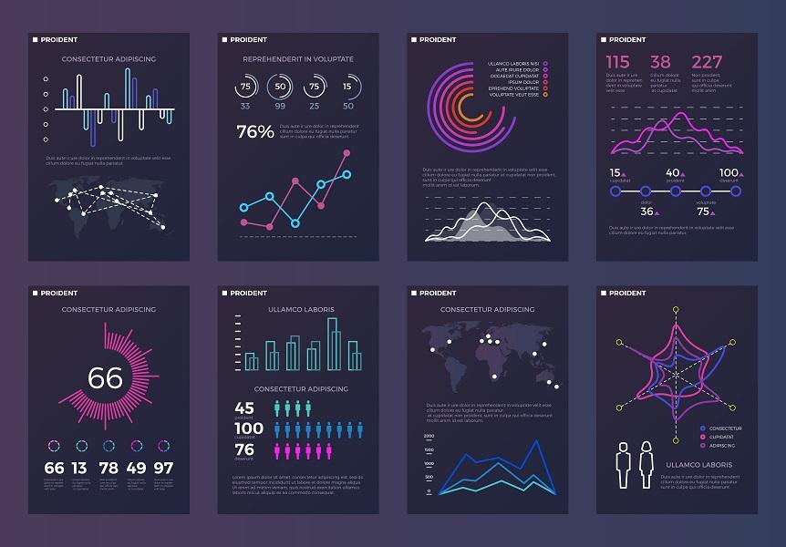 données présentation visuelle