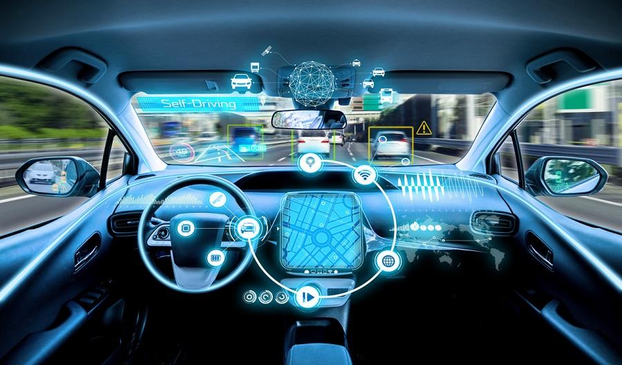 intérieur voiture autonome