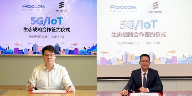 fibocom ericsson partenariat 5G/iot