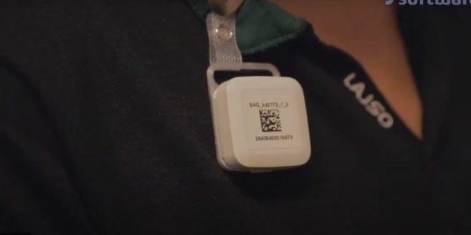 badge smart social distancing
