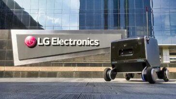 Robot de livraison LG Electronics