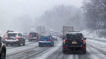 voitures autonomes par mauvais temps