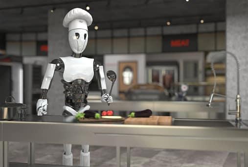 Un robot cuisinier